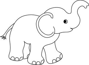 Baby elephant clipart outline jpg free download Pin by Carolyn Rey on Bedroom and Bathroom Ideas | Baby elephant ... jpg free download