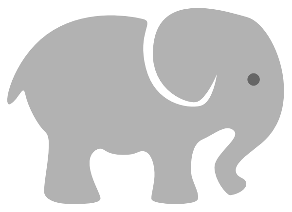Elephant clipart vector picture freeuse stock Baby Elephant Clipart Png Vector, Clipart, PSD - peoplepng.com picture freeuse stock