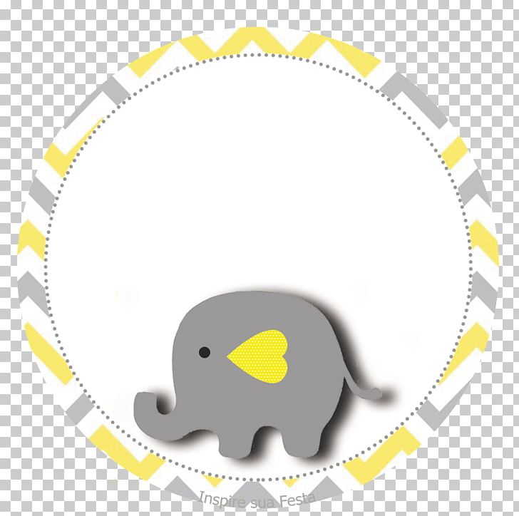 Baby elephant party clipart svg library library Baby Shower Yellow Elephant Grey Party PNG, Clipart, Animals, Area ... svg library library