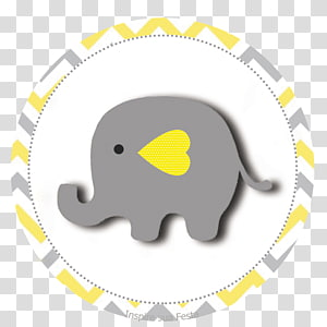 Baby elephant party clipart clip art library download Gray elephant , Baby shower Elephant Hathi Jr. Yellow Convite ... clip art library download