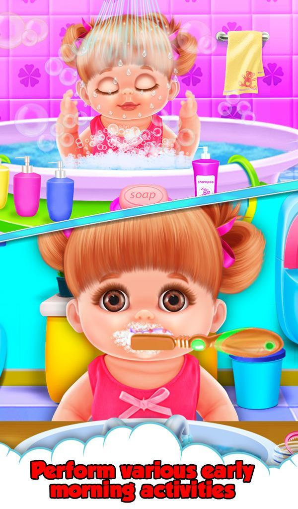 Baby Ava Daily Activities for Android - APK Download svg black and white