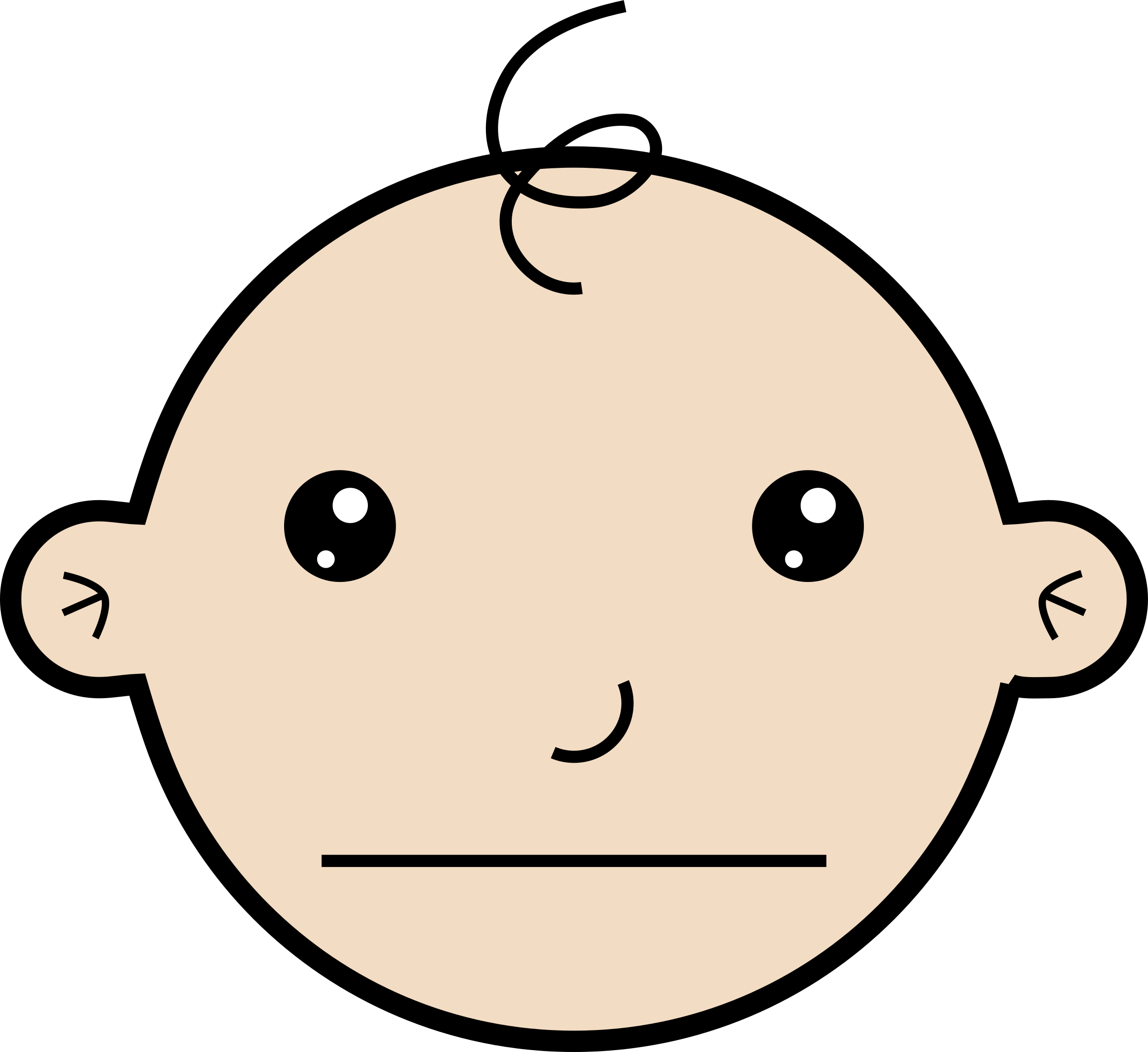 Baby face clipart free download clip art transparent library Baby face cartoon clipart images gallery for free download | MyReal ... clip art transparent library