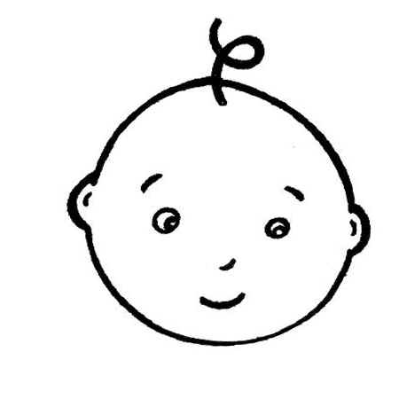 Baby face clipart free download png Free Baby Face Clipart Black And White, Download Free Clip Art, Free ... png