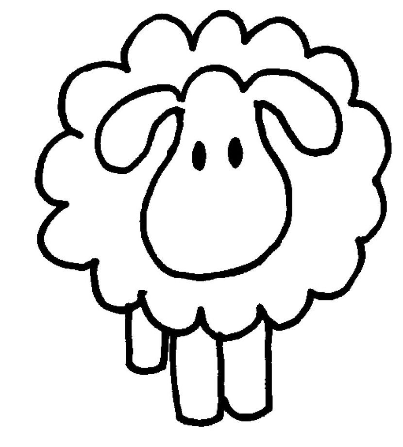 Baby farm animals clipart black and white lamb banner royalty free stock Free Sheep Clipart Pictures - Clipartix | quilts | Sheep drawing ... banner royalty free stock