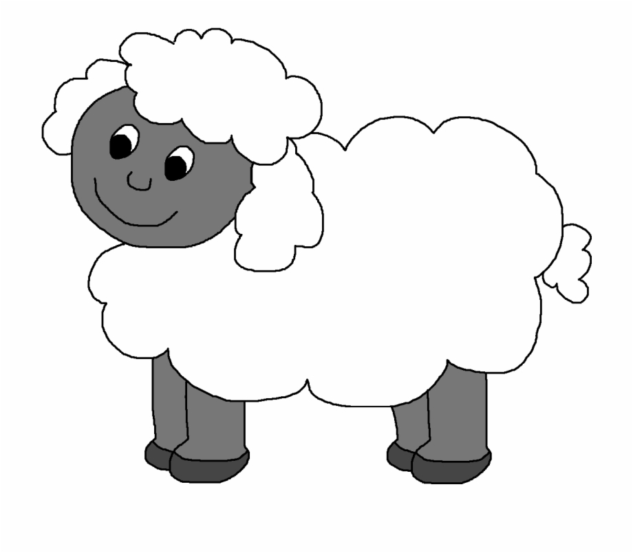 Baby farm animals clipart black and white lamb banner Farm Clipart Sheep - Farm Sheep Clipart Free PNG Images & Clipart ... banner