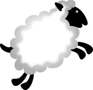 Baby farm animals clipart black and white lamb picture free stock Lamb Clipart Image Baby Farm Animals A Jumping Lamb ... - ClipArt ... picture free stock