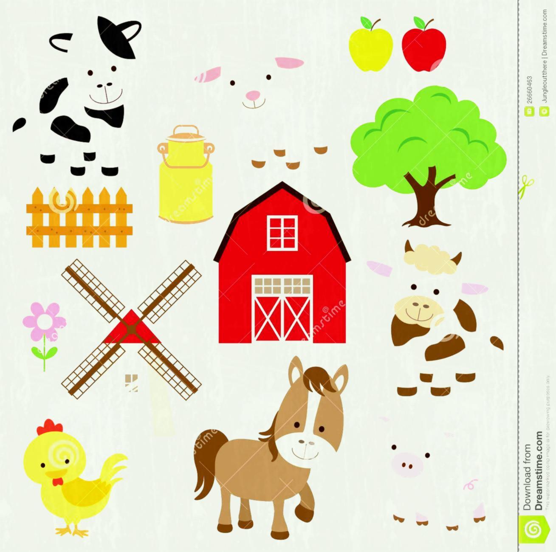 Baby farm clipart svg free Baby farm animals clipart 3 » Clipart Station svg free