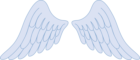 Pastel blue cliparts clip library download Babies clipart angel wing, Babies angel wing Transparent FREE for ... clip library download