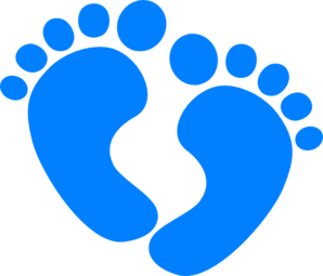 Baby feet pictures clipart jpg black and white stock Baby Boy Clip Art | Baby Feet clip art - vector clip art online ... jpg black and white stock