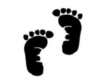 Baby foot print clipart clip royalty free stock Free Baby Feet, Download Free Clip Art, Free Clip Art on Clipart Library clip royalty free stock