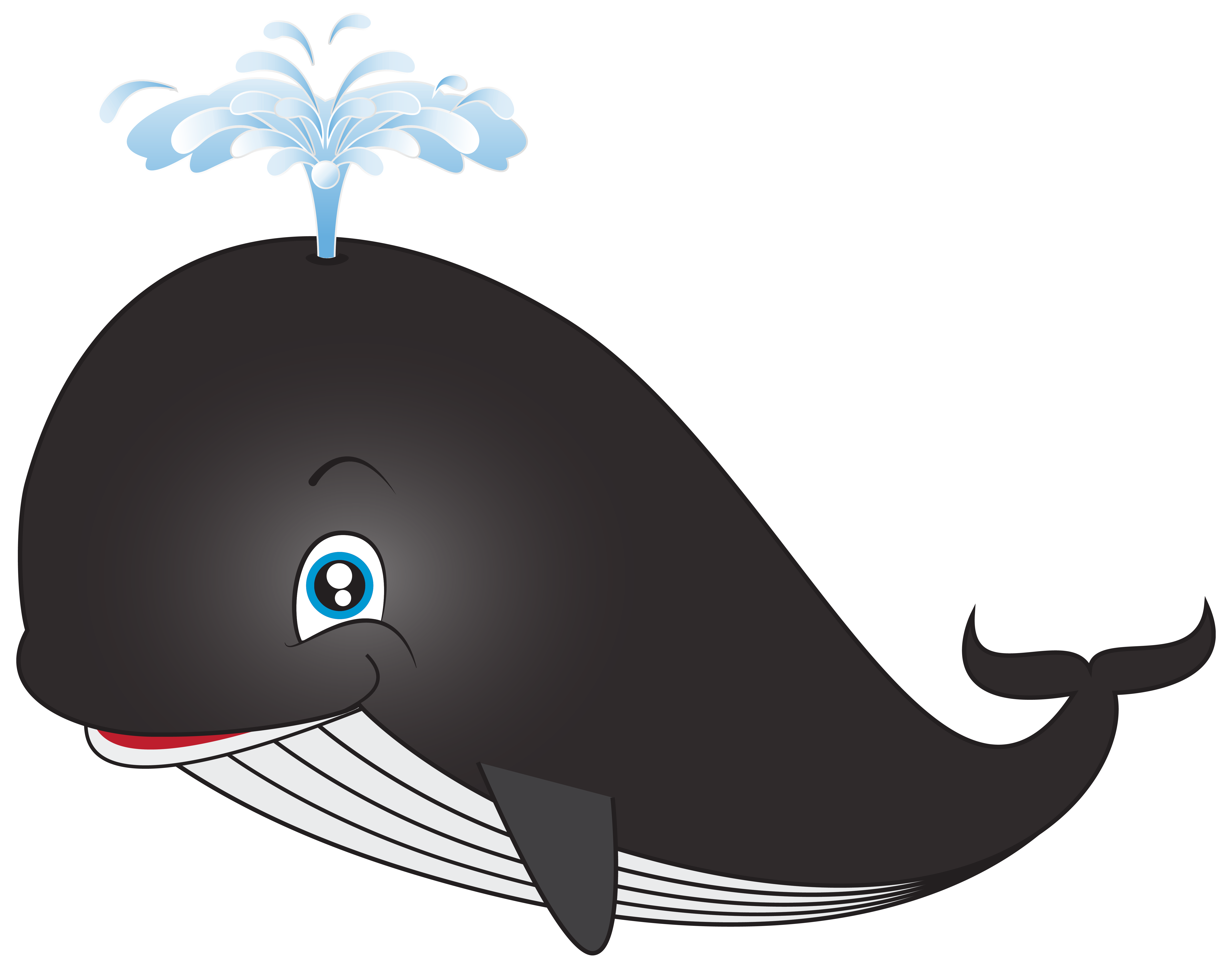 Purple fish eating worm clipart picture black and white download Sperm whale Blue whale Clip art - BABY SHARK 6281*4932 transprent ... picture black and white download