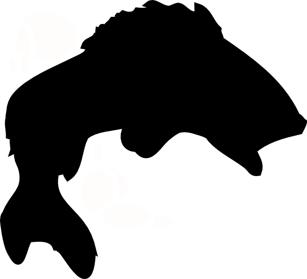 Tropical fish clipart black and white picture royalty free silhouette tropical fish | bass-fish-clip-art-fried-fish-clipart-9 ... picture royalty free
