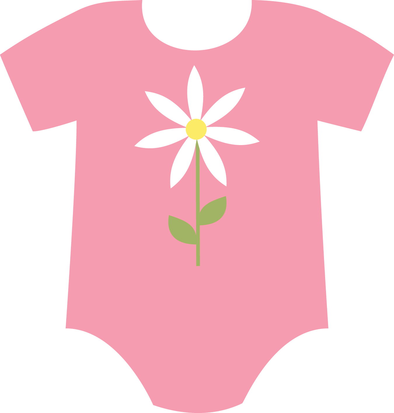 Baby onesies pretty png. Flower girl dress clipart