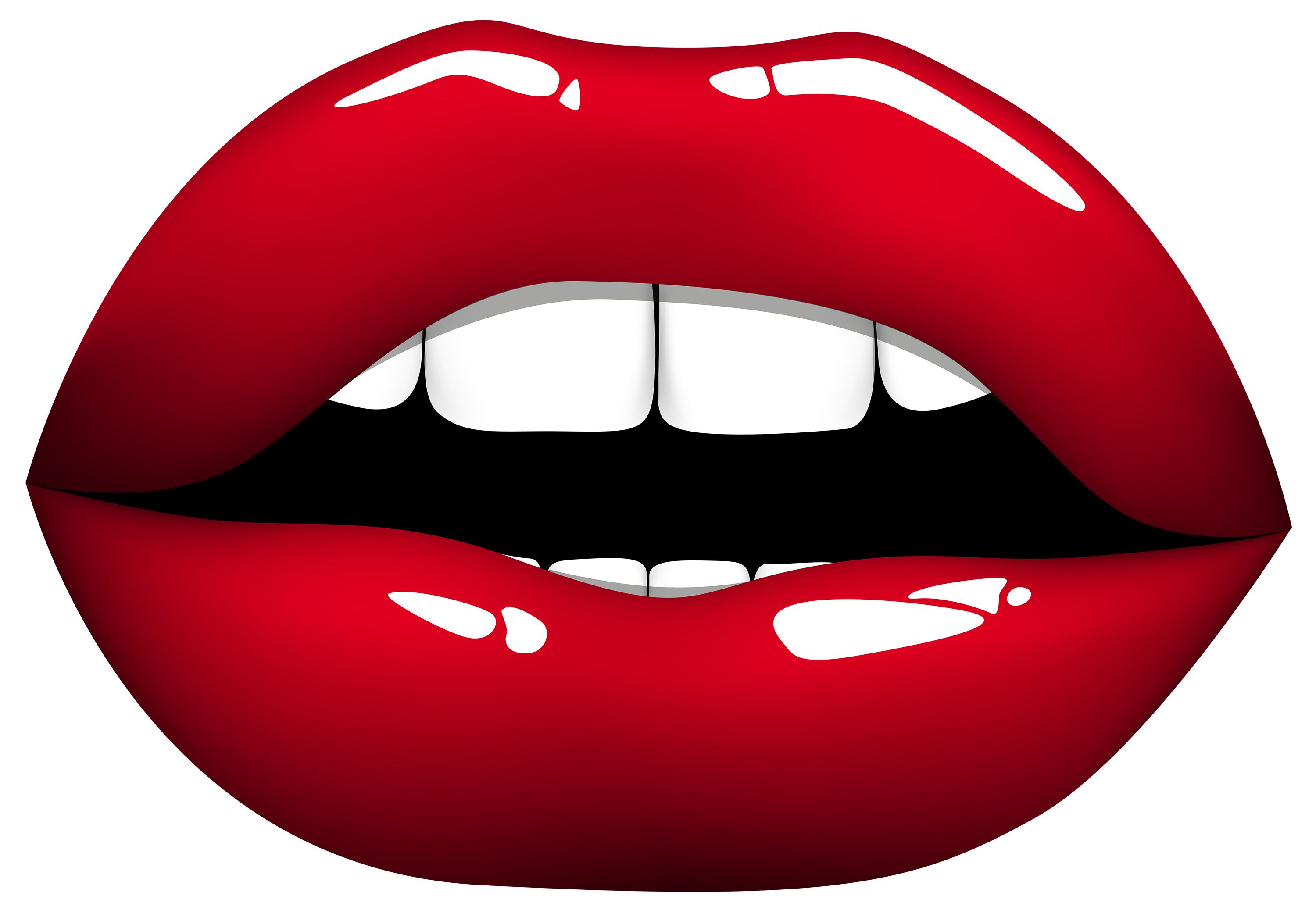 Glitter bitten apple clipart picture stock Lips Clipart Baby | errortape.me picture stock