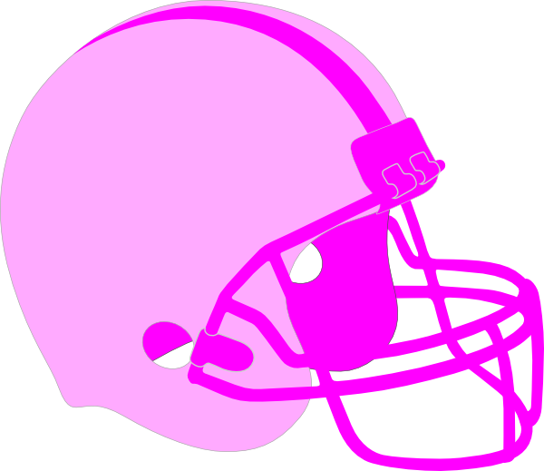 Football with ribbon clipart png download Pink Football Helmet Clip Art at Clker.com - vector clip art online ... png download