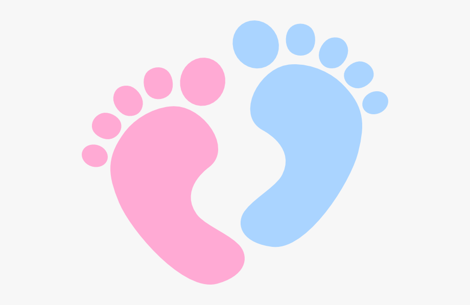 Baby footprint clipart images with no background png library download Clipart Of Twin, Fraternal Twin Same And Baby Footprint - Baby Feet ... png library download