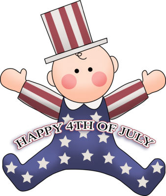 Baby fourth of july clipart image library download Image: 4th of July Baby | 4th of July Clip | Christart.com image library download