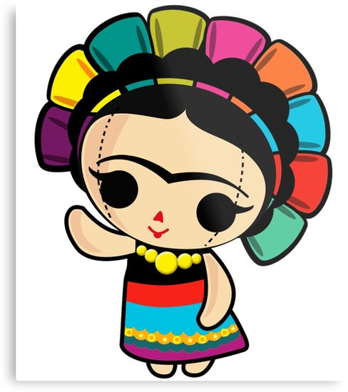 Baby frida kahlo clipart picture free Mexican Girl Drawing | Free download best Mexican Girl Drawing on ... picture free