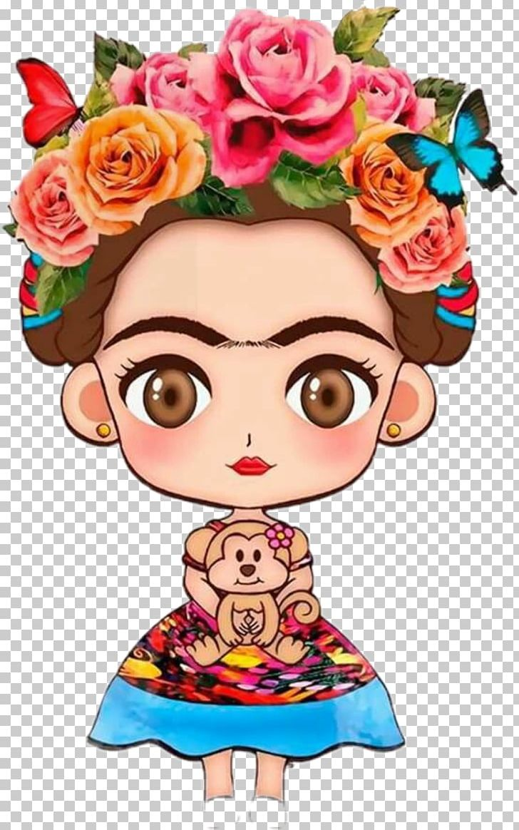 Baby frida kahlo clipart graphic library download Frida Kahlo Museum Viva La Vida PNG, Clipart, Art, Artist ... graphic library download