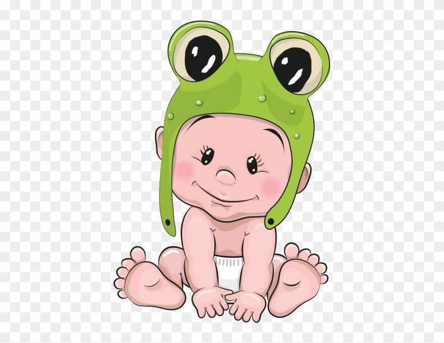 Baby frog cartoon clipart svg royalty free stock Clipart Kurbağa Bebek - Cute Cartoon Baby Frogs - Png Download ... svg royalty free stock