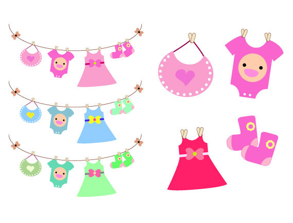 Baby garments clipart freeuse stock Baby dress clipart 1 » Clipart Station freeuse stock