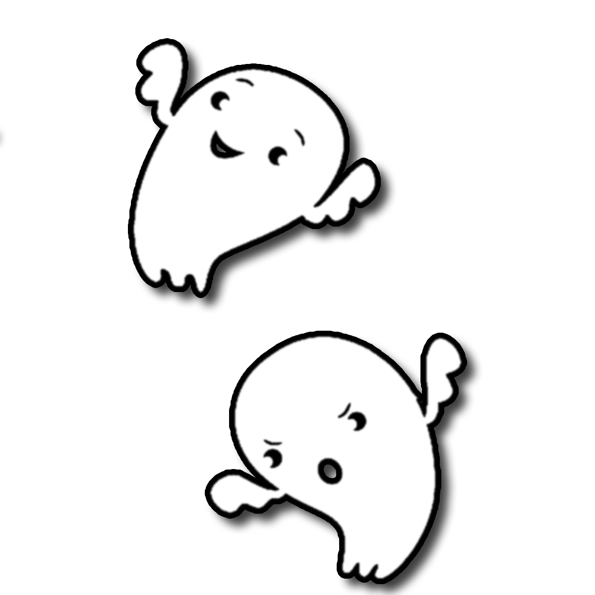 Flying ghost clipart black and white transparent image library download Free Baby Ghost Cliparts, Download Free Clip Art, Free Clip Art on ... image library download