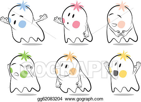 Baby ghost clipart image free download EPS Illustration - Baby ghost cartoon. Vector Clipart gg62083204 ... image free download