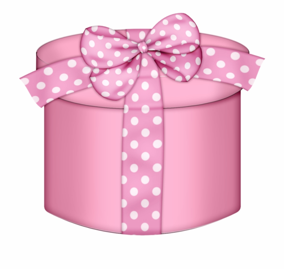 Baby gift clipart vector free download Round Gift Boxes, Everything Pink, Baby Shoes, Belt, - Pink Gift Box ... vector free download