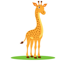 Baby giraffe pictures clipart jpg black and white Free Giraffe Clipart - Clip Art Pictures - Graphics - Illustrations jpg black and white