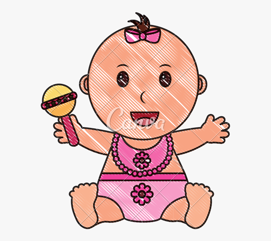 Baby girl and boy clipart clipart transparent library Diaper Transparent Baby Girl - Baby Boy Outline #1998524 - Free ... clipart transparent library