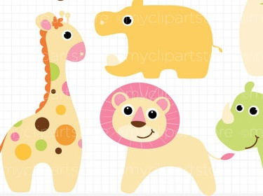 Baby girl animals clipart clipart free Girl looking at animals clipart - ClipartFest clipart free