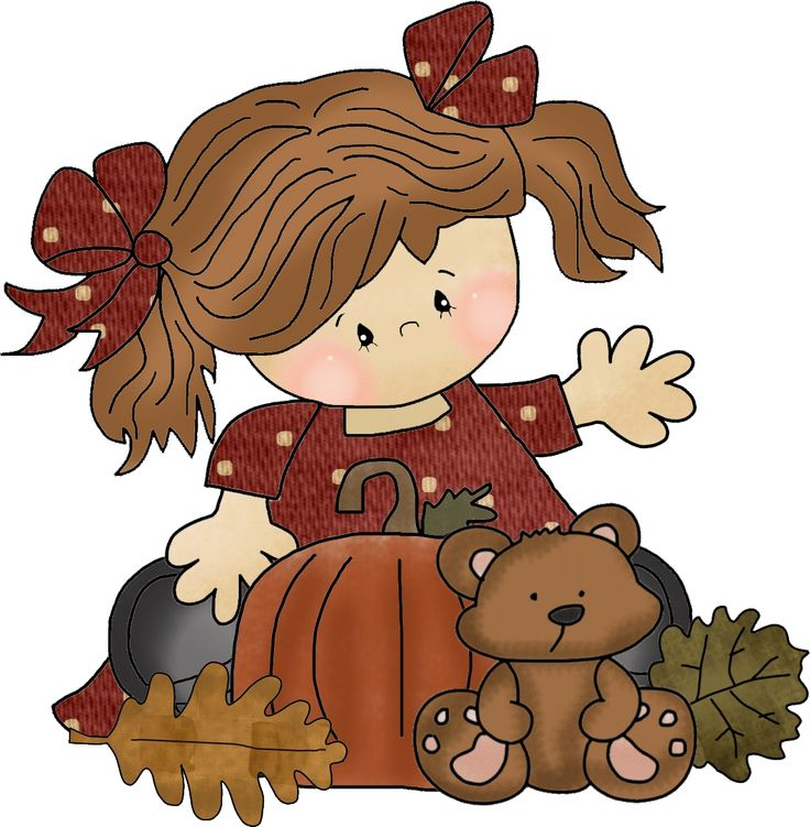 Baby girl autumn clipart png transparent library 17 Best images about Fall on Pinterest | Pumpkins, Animated ... png transparent library