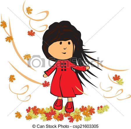 Clipartfest clip art. Baby girl autumn clipart