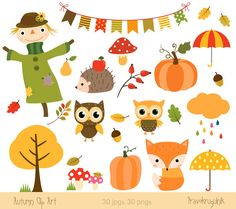 Baby girl autumn clipart. Clipartfox fall clip art