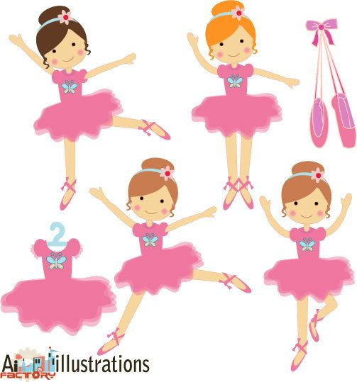 Baby girl ballerina clipart vector transparent stock The Baby Ballerinas were three young principal dancers of the Ballet ... vector transparent stock