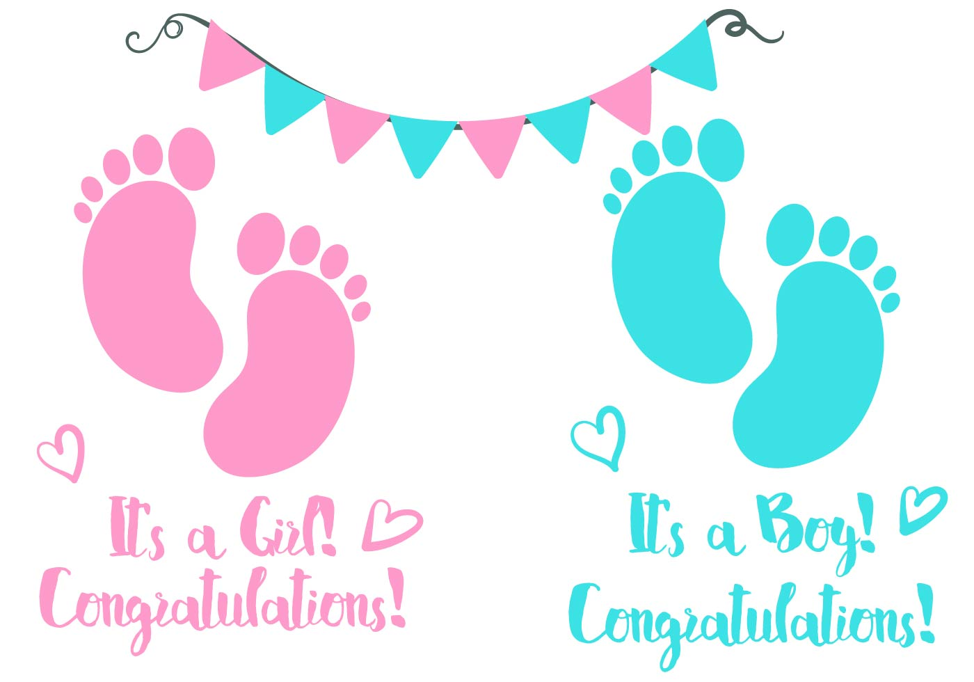Baby girl birth announcement clipart png library Baby Girl Birth Announcement Clipart - Free Clipart png library