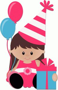 Baby girl birthday clipart png stock 237 Best Birthday Clipart images in 2019 | Birthday, Birthday ... png stock