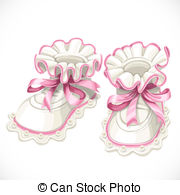 Baby girl booties clipart clip art free download Baby booties pictures clip art - ClipartFest clip art free download
