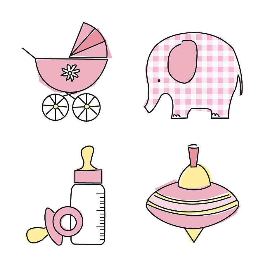 Baby girl booties clipart picture free download Baby Girl Booties Clipart - Clipart Kid picture free download