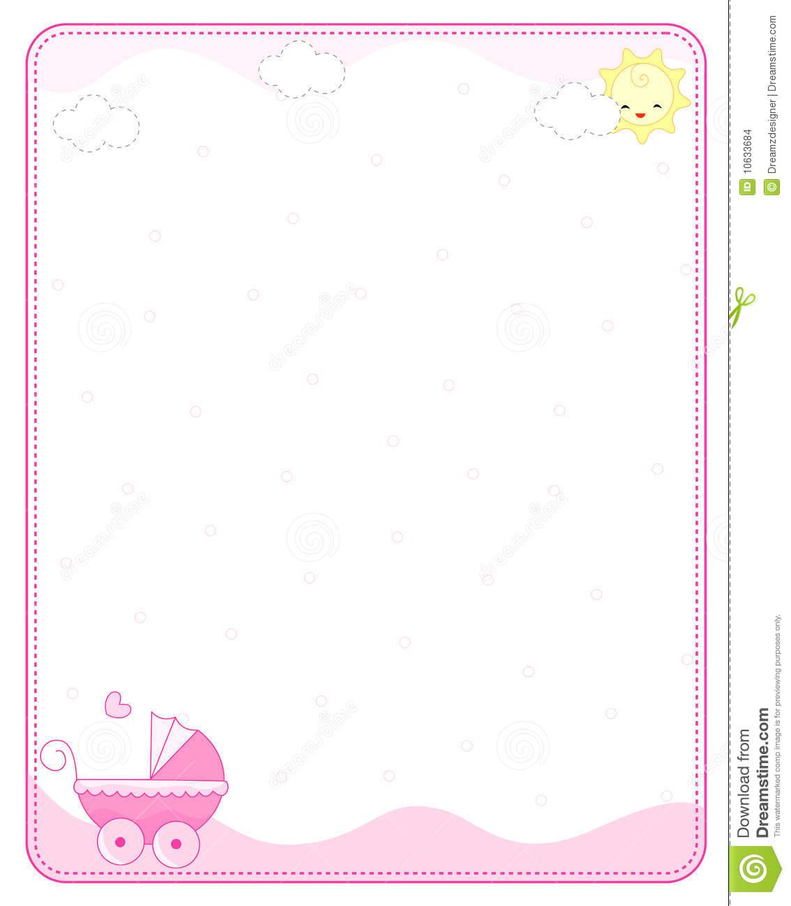 Baby girl border clipart vector free stock Baby girl border clipart 1 » Clipart Station vector free stock