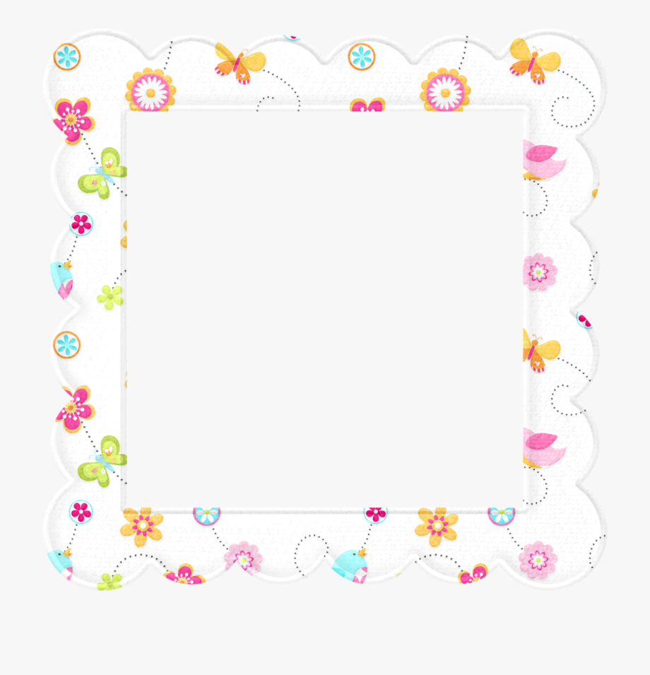 Baby girl border clipart royalty free library Baby Shower Border Images - Transparent Baby Border Clip Art ... royalty free library