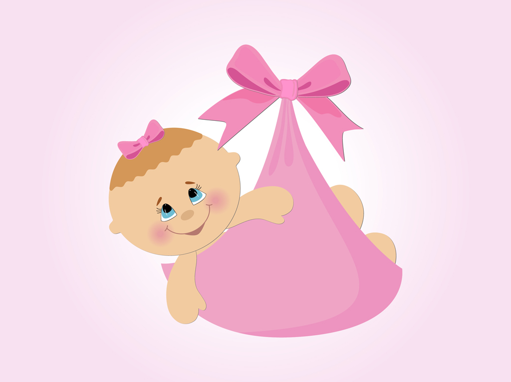 Baby girl born clipart clipart free Baby girl born clipart - ClipartFest clipart free