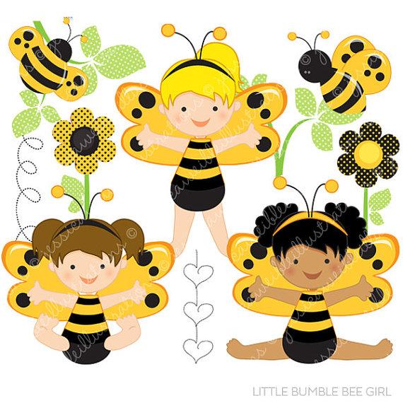 Bumble bee clipartfox little. Baby girl bumblebee clipart