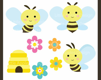 Bumble bee clipartfest clip. Baby girl bumblebee clipart