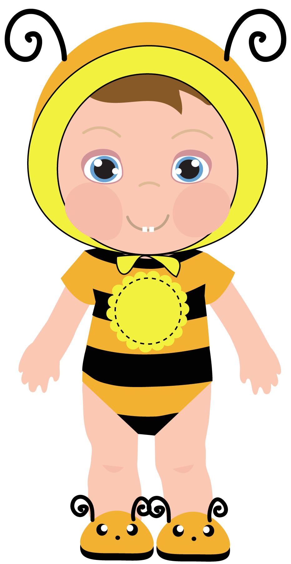 Baby girl bumblebee clipart clip art freeuse library Girl bee clipart - ClipartFest clip art freeuse library