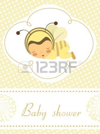 Baby girl bumblebee clipart.  bee stock illustrations