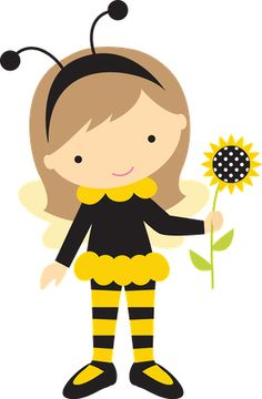 Baby girl bumblebee clipart. Pin by sherry sparks