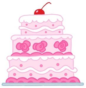 Clipartfox free birthday clip. Baby girl cake clipart