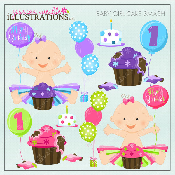 Baby girl cake clipart graphic black and white library Tutu Baby Girl Clipart - Clipart Kid graphic black and white library