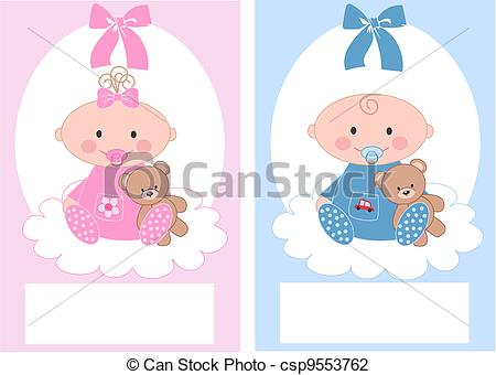 Baptism illustrations and clip. Baby girl christening clipart